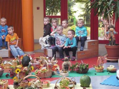 Foto zur Meldung: Erntedankfest in der Kita Sonnenschein