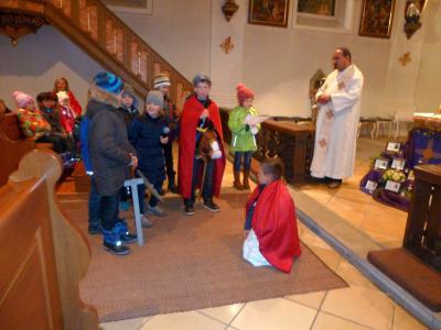 Foto zur Meldung: St. Martin und der Bettler