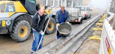 Foto zur Meldung: Winterpause beim Straßenbau: Bald wieder freie Fahrt