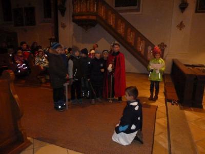 Foto zur Meldung: Gemeinsame Martinsfeier in der Pfarreiengemeinschaft
