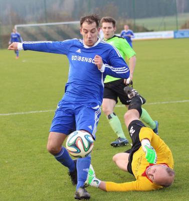 Foto zu Meldung: Landesliga: FC Vorwärts - SV Friesen 0:0