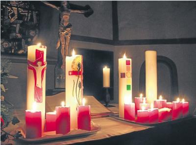 Foto zur Meldung: Ortsgemeinde: Burgschwalbach erstrahlt im Lichterglanz
