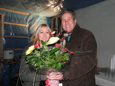 Foto zur Meldung: Eigenheim feiert Richtfest