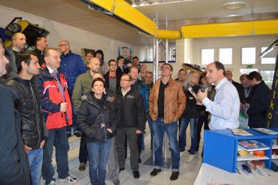 Foto zu Meldung: Energetische Sanierung im Blickfeld polnischer Firmen