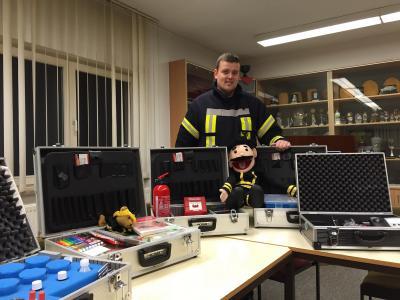 Foto zu Meldung: Brandschutzerziehung