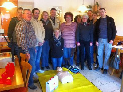 Foto zur Meldung: Keine Angst vor der Nutzung eines automatischen Defibrillators