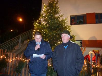 Foto zur Meldung: Großes Lob der Bevölkerung für die 17. Moosbacher Dorfweihnacht