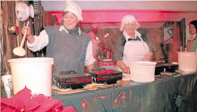 Foto zur Meldung: Ortsgemeinde: Weihnachtsmarkt wie im richtigen Märchen