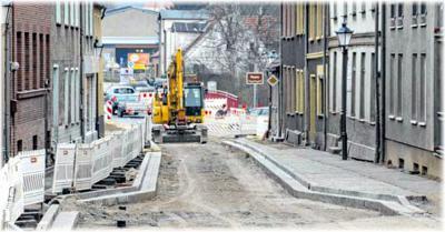Foto zur Meldung: Frostwetter schickt die Straßenbauer nach Hause