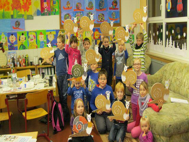 Grundschule Friedrich De La Motte Fouque Adventsbasteln Der Klasse 3b