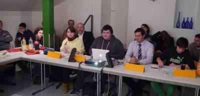 Foto zu Meldung: Große Beteiligung an der öffentlichen Sitzung des Kinder- und Jugendparlament  Nauheim
