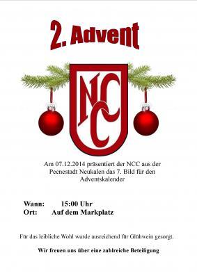 Foto zur Meldung: Der 2. Advent mit dem NCC