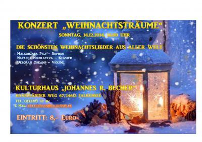 Foto zur Meldung: Sonntagskonzert am 10.12.: Es gibt noch freie Plätze!