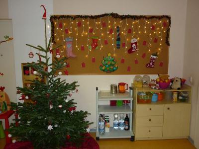 Foto zur Meldung: Weihnachtliche Dekorierung
