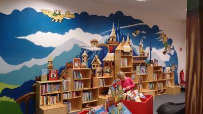 Foto zur Meldung: Schöne Kinderbibliothek