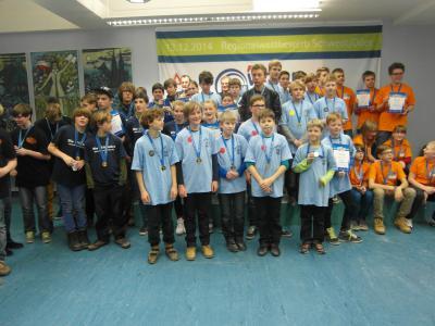 Foto zur Meldung: FLL-Regionalwettbewerb in Schwedt