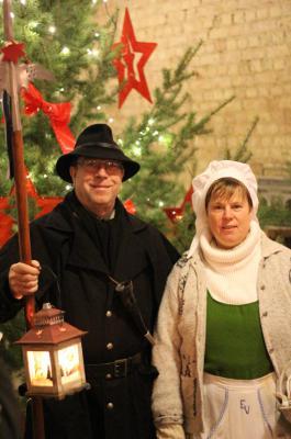 Foto zur Meldung: 8. Hofweihnacht - im wahrsten Sinne des Wortes - ein voller Erfolg