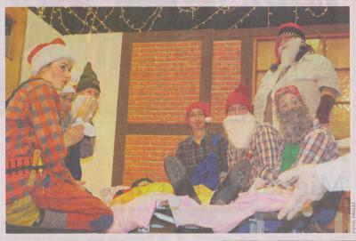 Foto zu Meldung: Spektakel zum Advent in Balow