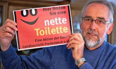 Foto zur Meldung: Nette Toilette jetzt auch in der SG Fredenbeck