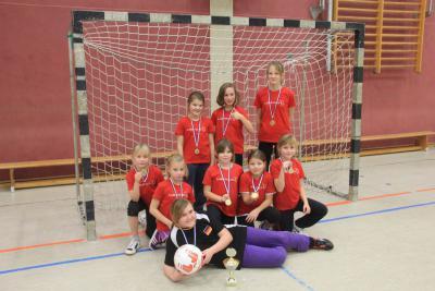 Foto zur Meldung: 1. Turnier der Kicking Girls
