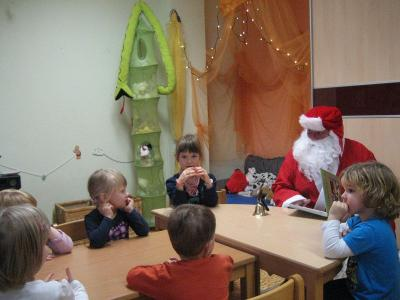 Foto zur Meldung: Der Weihnachtsmann war da!!!
