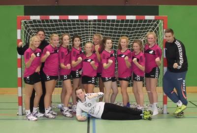 Foto zur Meldung: EKS-Mädels sind Handball-Kreismeister 2014