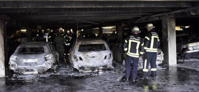 Vorschaubild zur Meldung: Tiefgaragenbrand und ein Toter im Treppenraum
