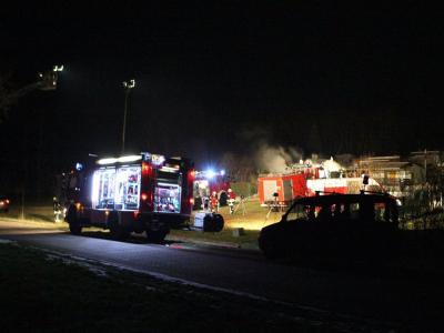 Vorschaubild zur Meldung: Einsatz 001/2015 - Laubenbrand