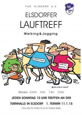 Foto zur Meldung: Neues Angebot: LAUFTREFF