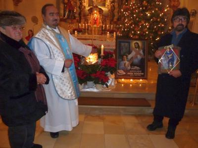 Foto zur Meldung: Jahresschluss in der Pfarrei St. Johannes