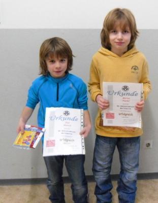 Foto zur Meldung: Ehrung der Teilnehmer der Regionalstufe der Mathematikolympiade