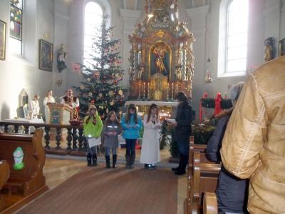 Foto zur Meldung: 4. Adventsonntag in der Pfarrkirche St. Georg und der Filiale St. Peter und Paul