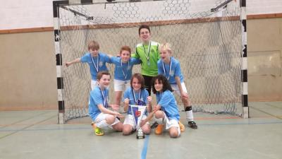 Foto zur Meldung: TSV gewinnt Bremen-Nord Hallen-Cup