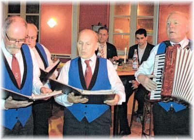 Foto zur Meldung: Männerchor geht nach 30 Jahren die Puste aus