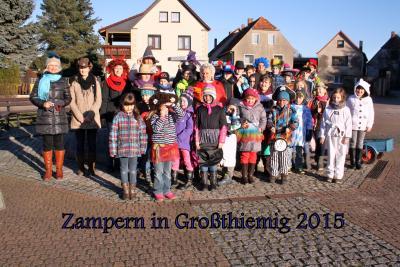 Foto zu Meldung: Zampern 2015