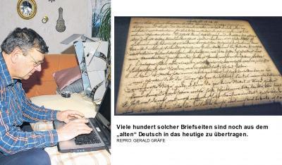 Foto zur Meldung: Auf den Brief-Spuren der letzten Darguner Juden