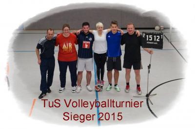 Foto zur Meldung: TuS Volleyballturnier 2015