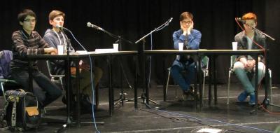 Foto vom Album: Jugend debattiert: Schulwettbewerb 2015
