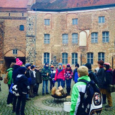 Foto zur Meldung: Ausflug zur Burg Ziesar