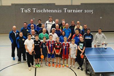 Foto zur Meldung: TuS Tischtennis Turnier 2015