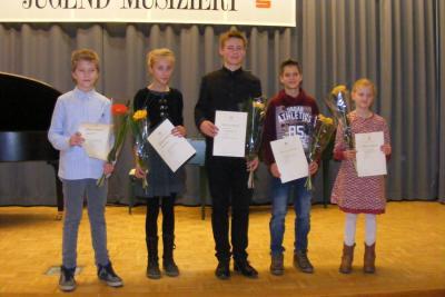 Foto zu Meldung: Regionalwettbewerb mit Preisträgerkonzert beendet