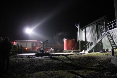 Vorschaubild zur Meldung: Einsatzablauf bei Biogasanlagen - Praxis