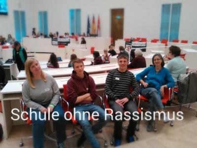 Foto zur Meldung: SOR-SMC Schule ohne Rassismus – Schule mit Courage