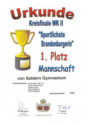 Foto zur Meldung: Sportlichste Brandenburger