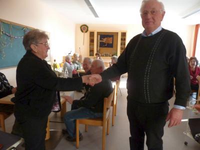 Foto zur Meldung: Senioren erlebten wieder einen unterhaltsamen Nachmittag