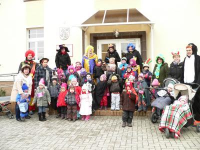 """Foto zu Meldung: Kindergarten """"Spielkiste"""" zampert"""