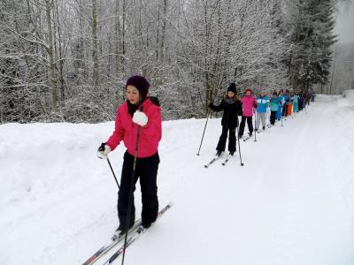 Foto zu Meldung: Skilager in Tschechien