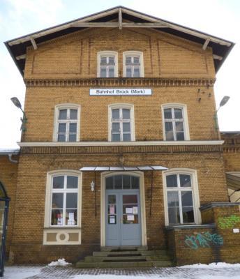 Foto zu Meldung: Service-Information am Bahnhof Brück - ab sofort wieder geöffnet!
