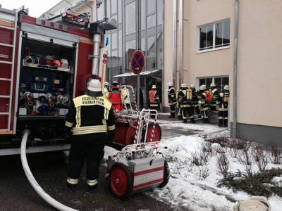 Foto zur Meldung: Brand im Seniorenwohnpark Esterhofen