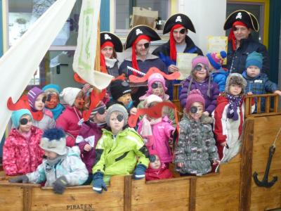 Foto zur Meldung: Ein Piratenschiff für kleine Piratenmäuse